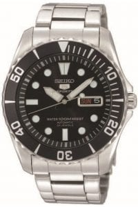Seiko 5 Sports Automatic Submariner Styled 'Sea Urchin' Men's Watch