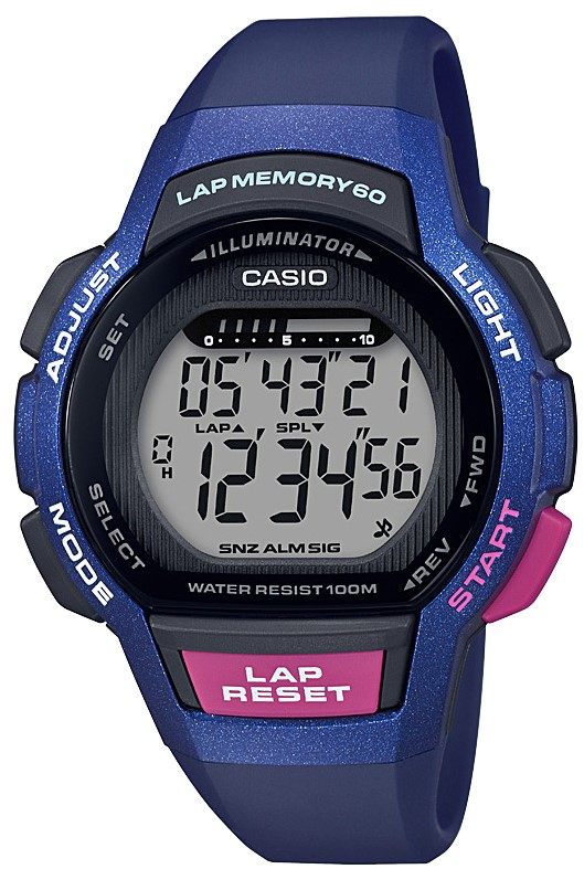Casio Collection Classic Quartz Digital Blue Resin Retro Vintage Watch In conjunction with the Casio Collection, this Digital Blue Purple Ladies Watch LWS-1000H-2AVEF  boasts a range of fantastic features. Notably, it has a a full digital display with a dual display, a lap memory of 60 and a stopwatch. The watch also features a timer, for those who may use their watch as an aid to remember a particular day or event. The time can be set to the nearest minute and up to 24 hours in advance. These features make this a great watch for those who enjoy exercising or equally those who just want to wear it to look even cooler. Another notable feature of this watch is its ability to act as an alarm, so that you never wake up late again.Key Features:Digital DisplayLap Memory 60SnoozeAlarmLightResin MaterialQuartz MovementPlexi GlassCalendarStandard BuckleStopwatch The Family: Casio ClassicThe Casio Classic Collection includes some the most iconic watches the company has ever made. Popular today due to their retro appeal, refreshingly simple practicality, and understated styling, the Casio Classic Collection of timepieces are truly timeless and appeal to an almost uniquely broad range of people; proof that some things genuinely never go out of style.The Brand: CasioCasio was established in 1946 by Japanese engineer Tadao Kashio. The company entered the watch market in 1974 with the release of the Casiotron, which was the world's first Auto Calendar watch. Only eleven years after entering this field Casio reshaped global thought about the functions a watch should perform. This began with the release of the pioneering and the now legendary G-Shock family.Innovation and world firsts have defined the company's history ever since. The most striking of these being the release of the first ever touch screen watch in 1991, 24 years before the Apple Watch. Also, the first ever wrist camera watch in 2000. Casio have been producing smartwatches decades before the term had even been coined. Casio has firmly cemented its reputation as a famously reliable and precise name in both analogue and digital watches.Who we are:We pride ourselves on being authorised, established and respected sellers of Hamilton products. We stock a wide range of Hamilton models, both online and in store. You can visit us in store, we are located at: 15-17 Charles Street, Hoole, Chester, CH2 3AZ. By visiting us in store you are able to converse first-hand with our fantastic team, who are able to offer you helpful advice regarding our wide range of high-quality watches. However, if you cannot pay a visit to our store, then you can rest assured that we offer an equally excellent online service. We can guarantee the fastest and most reliable delivery services.If you have any questions please click hereClick here to join our facebookand Instagram!