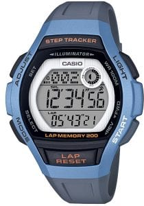 Casio Collection Classic Quartz Digital Light Blue Resin Retro Step-tracker Vintage WatchIn conjunction with the Casio Collection, this Sport Light Blue Steptracker Ladies Watch LWS-2000H-2AVEF boasts a range of fantastic features. Notably, it has a a full digital display with a dual display, a lap memory of 200, as well as a step-tracker. These features make this a great watch for those who enjoy exercising or equally those who just want to wear it to look even cooler. Another notable feature of this watch is its ability to act as an alarm, so that you never wake up late again. However, what is most impressive is this watches ability to set two different timezones, which is extremely helpful if you are someone who may make overseas calls.Key Features:Sports StyleSteptrackerCasio CollectionLED LightLap Memory 200Illuminator100m Water ResistantDigital LCD DisplayBlue Resin StrapPlexiglass CrystalQuartz MovementDay/Date/Month CalendarStandard BuckleThe Family: Casio ClassicThe Casio Classic Collection includes some the most iconic watches the company has ever made. Popular today due to their retro appeal, refreshingly simple practicality, and understated styling, the Casio Classic Collection of timepieces are truly timeless and appeal to an almost uniquely broad range of people; proof that some things genuinely never go out of style.The Brand: CasioCasio was established in 1946 by Japanese engineer Tadao Kashio. The company entered the timepiece market in 1974 with the release of the Casiotron, the world's first Auto Calendar watch. Only eleven years after entering this field, Casio completely reshaped global thought about the function a watch should perform with the release of the pioneering and now legendary G-Shock family. Innovation and world firsts have defined the company's history ever since. The most striking of these being the release of the first ever touch screen watch in 1991, 24 years before the Apple Watch, and the first ever wrist camera watch in 2000. In short, Casio was producing smartwatches decades before the term had even been coined. Add to this the hipster popularity of the company's retro designs. Casio has firmly cemented its reputation as a famously reliable and precise name in both analogue and digital watches.If you have any questions please click hereClick here to join our facebookand Instagram!