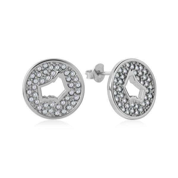 Radley Dog In A Basket Sterling Silver Czech Stone Stud Earrings RYJ1057ThisRadley Dog In A Basket Sterling Silver Czech Stone Stud Earrings RYJ1057 is a perfect addition to any jewellery collection. The charm itself is made up of Czech stones in a circular shape to form a dog's head silhoutte.Key Features:Dog In A Basket FamilySterling Silver MaterialCzech StoneHook StyleDog SilhoutteThe Family: Dog In A BasketOur Radley dog is a global icon, and we continue to celebrate our four-legged friend with stand-out silhouettes that'll add a fun finish to your weekend ensembles. This cross body bag is the perfect pick for adding personality to party looks, plus dog lovers everywhere will be delighted with its Scottie dog shape.The Brand: RadleyWe are a London born brand that has a passion for crafting beautiful handbags and accessories that women love. Our approach is simple – to create the perfect combination of style on the outside and functionality on the inside. To achieve this we blend creative design, quality materials and immaculate craftsmanship, not forgetting plenty of personality to finish. We hope you enjoy exploring our world…