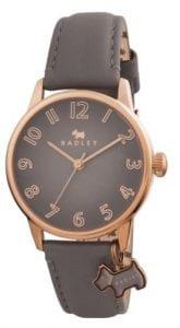Radley Blair Quartz Rose Gold PVD Stainless Steel Case Grey Leather Strap Ladies Watch RY2248