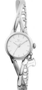 Radley Bayer Quartz White Dial Silver Stainless Steel Ladies Watch RY4181