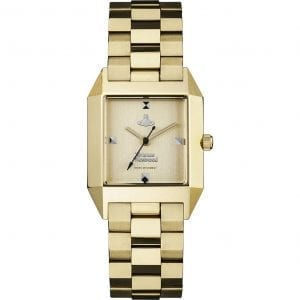 Vivienne Westwood Hatton Quartz Gold PVD Stainless Steel Ladies Watch VV143GDGD