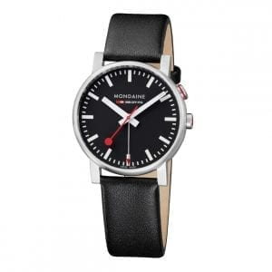 Mondaine Official Swiss Railways Evo Big Black Quartz Men's Watch A468.30352.14SBB