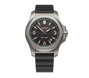 Victorinox Swiss Army I.N.O.X Titanium With Protective Bumper Quartz Men's Watch 241883