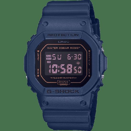 Casio G-Shock Origins Digital Quartz Blue Resin Men's Watch DW-5600BBM-2ER
