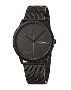 Calvin Klein Minimal Black Mens Watch K3M514B1This Swiss-made Calvin Klein watch, is built to the highest quality with a beautiful black-ion plated steel face, complete with a black dial. This elegantly minimalistic designed watch features a deploy clasp. The watches timeless features makes for a bold piece, perfect for any occasion. The watch will come equipped with a two years manufacture guarantee.Key Features: Movement - Quartz Case Size - 40mmClasp Type - Deploy ClaspWater Resistant - 30mGlass - Mineral Strap Type - Stainless Steel