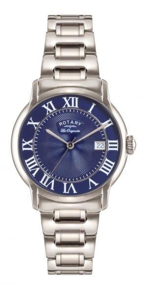 Rotary Caviano Stainless Steel Men's Watch GB90140/05