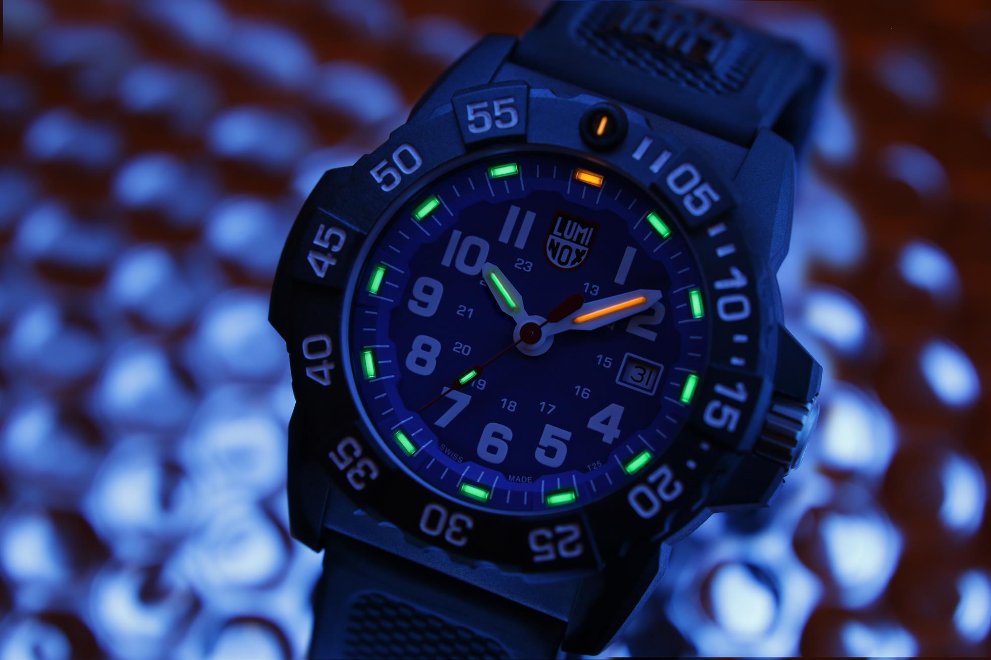 Luminox Navy Seal 3500 Series Blue Dial Men S Watch Xs 3503