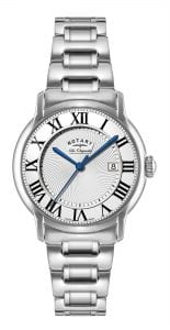 Rotary Caviano Stainless Steel Silver Men's Watch