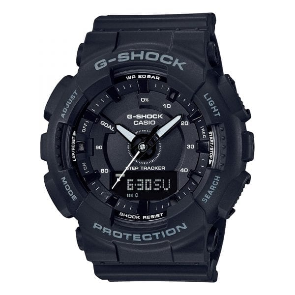 Casio Limited Edition G-Shock Black Compact Case Mens Watch GMA-S130-1AER 49mm