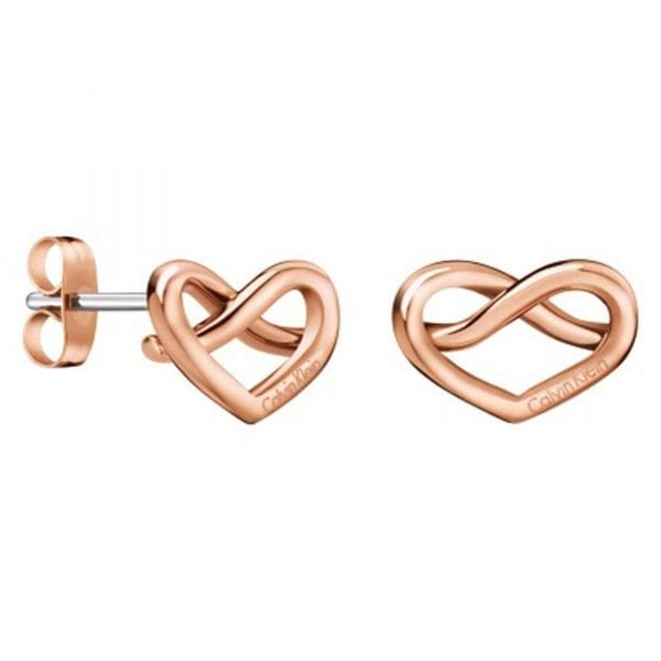 Calvin Klein Rose Gold Plated Stainless Steel Charming Earrings Ladies KJ6BPE100100Stylish and attractive, this classic Calvin Klein Rose Gold Plated Stainless Steel Charming Earrings Ladies KJ6BPE100100 is made from stainless steel. Furthermore, the necklace is complete with the Calvin Klein logo engraved onto the earrings.Key Features:Calvin Klein LogoButterfly ClaspPolished SurfaceThe Brand: Calvin KleinCalvin Klein is one of the truly iconic cultural forces to emerge from the twentieth century. Based on bold, progressive thinking and seductively minimal aesthetic, the company was founded as a Manhattan coat shop by its namesake in 1968, and has since become a global lifestyle phenomenon. In line with this design mission is Calvin Klein's range of timepieces. Defined by their trademark simplicity and constantly evolving to match contemporary trends, the collection allows the wearer to sport a fashion legend proudly on their wrist.