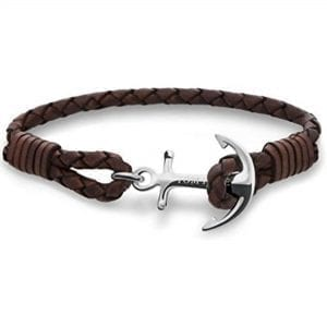 Tom Hope Havana Brown Sterling Silver Bracelet TM0211This Tom Hope Havana Brown Sterling Silver Bracelet (TM0211) has a brown leather braided bracelet and a pure sterling silver signature Tom Hope anchor. Key Features:UnisexPure sterling silverBraided premium leatherNickel and lead free