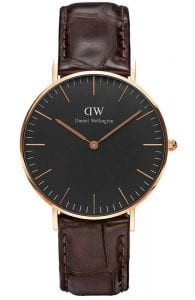 Daniel Wellington Classic Black York Unisex WatchDW00100140 RRP £139