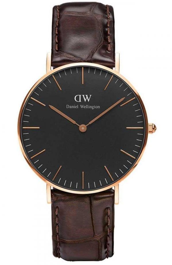 Daniel Wellington Classic Black York Unisex WatchDW00100140 RRP £139