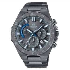 Casio Edifice Quartz Gunmetal Grey Stainless Steel Chronograph Men's Watch EFR-563GY-1AVUDF