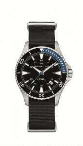 Hamilton Khaki Scuba Auto Stainless Steel Case Black NATO Strap Men's Watch H82315931 40mm