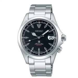 Seiko Prospex Alpinist Automatic Black Dial Silver Stainless Steel Men's Watch SPB117J1