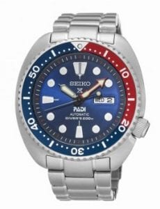 Seiko Prospex Special Edition 'Pepsi Bezel' Turtle PADI Divers Mens Watch SRPA21K1 45mm