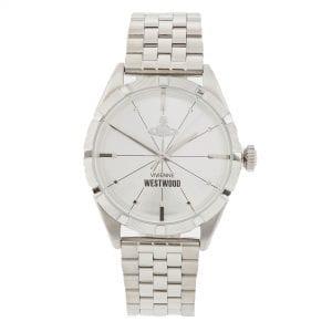 Vivienne Westwood Conduit Quartz Silver Stainless Steel Men's Watch VV192SLSL RRP £235