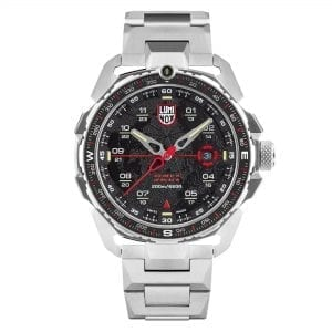 Luminox Ice-Sar Artic Quartz Black Dial Silver Stainless Steel Men's Watch XL.1202 RRP £755
