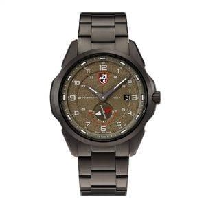 Luminox Atacama Adventurer Field Quartz Brown Dial Gunmetal Grey Stainless Steel Men's Watch XL.1768 RRP £749