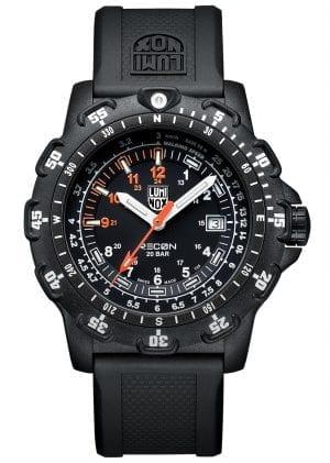 Luminox Recon Point Quartz Black Dial Rubber Strap Men's Watch XL.8821.KM.F RRP £365