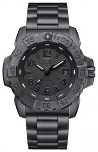 Luminox Navy SEAL Steel 3250 Series Blackout Men's Watch XS.3252.BO.L