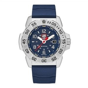 Luminox Navy SEAL Quartz Blue Dial Rubber Strap Men's Watch XS.3253 RRP £479