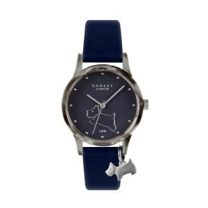 Radley Watch It! Quartz Blue Dial Blue Silicone Strap Ladies Watch RY2845-BOXED RRP £50