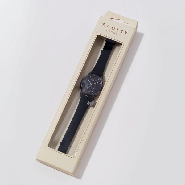 Radley Watch It! Quartz Blue Dial Blue Silicone Strap Ladies Watch RY2845-BOXED RRP £50
