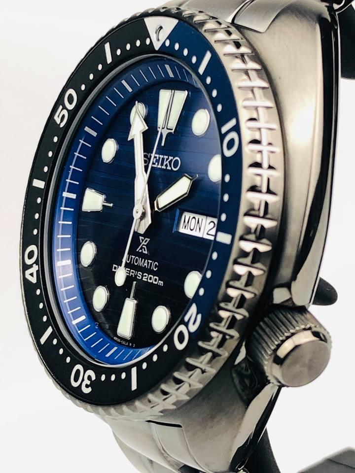 Seiko Prospex Turtle Save The Ocean Automatic Blue Dial