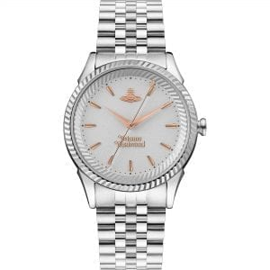 Vivienne Westwood The Seymour Quartz Silver Dial Silver Stainless Steel Bracelet Ladies Watch VV240SLSL RRP £240