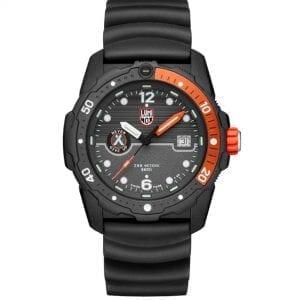 Luminox x Bear Grylls Survival SEA 3720 Series Quartz Black Dial Rubber Strap Men's Watch XB.3729 RRP £429