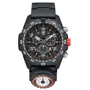 Luminox x Bear Grylls Survival MASTER 3740 Series Quartz Black Dial Rubber Strap Men's Watch XB.3741 RRP £849