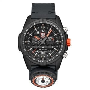 Luminox x Bear Grylls Survival LAND 3780 Series Quartz Black Dial Rubber Strap Men's Watch XB.3781.KM RRP £569