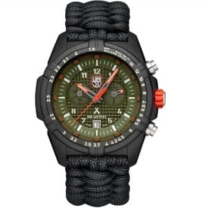 Luminox x Bear Grylls Survival LAND 3780 Series Quartz Green Dial Nylon Strap Men's Watch XB.3797.KM RRP £615