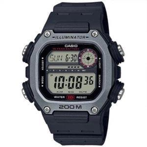 Casio Collection Quartz Digital LCD Dial Black Resin Strap Men's Watch DW-291H-1AVEF £39.90