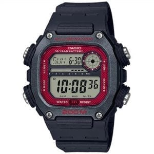 Casio Collection Quartz Digital LCD Dial Black Resin Strap Watch DW-291H-1BVEF RRP £39.90