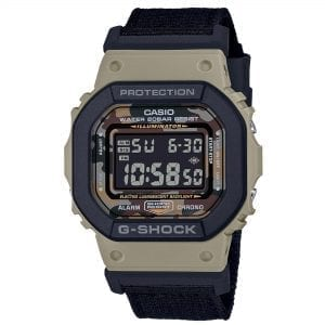 Casio G-Shock Camo Quartz Black Digital LCD Dial Black Resin Strap Men's Watch DW-5610SUS-5ER RRP £129