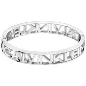 Calvin Klein Mania Silver Stainless Steel Ladies Bracelet Jewellery KJCSMD00010M RRP £95
