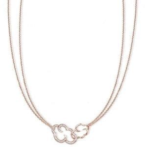 Vixi Jewellery DayDream Rose Gold Open Cloud Long Necklace Ladies Jewellery DAYO-LC.R RRP £95
