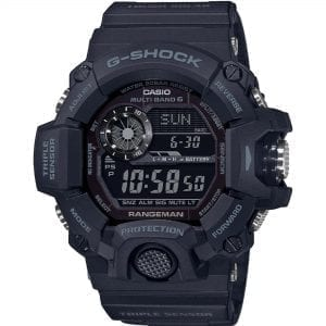 Casio G-Shock Black-Out Rangeman Solar Black Dial Resin Strap Men's Watch GW-9400-1BER RRP £299