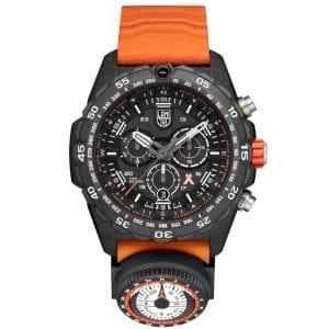Luminox x Bear Grylls Survival MASTER 3740 Series Quartz Black Dial Rubber Strap Men's Watch XB.3749 RRP £849