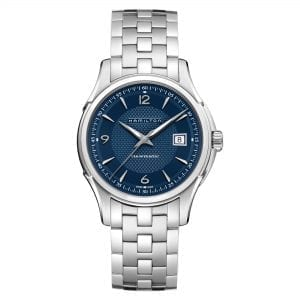 Hamilton Jazzmaster Viewmatic Automatic Blue Dial Silver Stainless Steel Bracelet Men's Watch H32515145 RRP £640