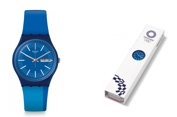 Swatch olympic 2020 banner