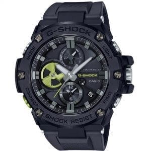 Casio G-Shock G-Steel Solar Black Dial Resin Strap Men's Watch GST-B100B-1A3ER RRP £349