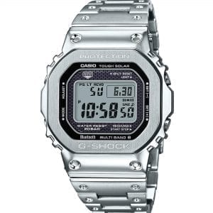 Casio G-Shock 35th Anniversary Limited Edition Silver Stainless Steel Digital Mens Watch GMW-B5000D-1ER 49mm