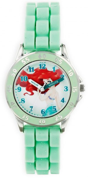 Disney Princess Cinderella Quartz Green Plastic Girl's Watch PN9007