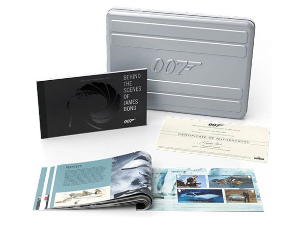 James Bond Stamp Collection
